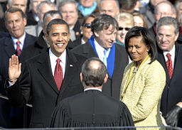 US_President_Barack_Obama_taking_his_Oath_of_Office