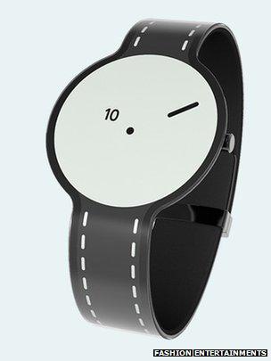 Sony paper watch