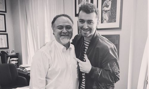 Sam-Smith-with-Doctor-Zeitels  © Samsmithworld/Instagram