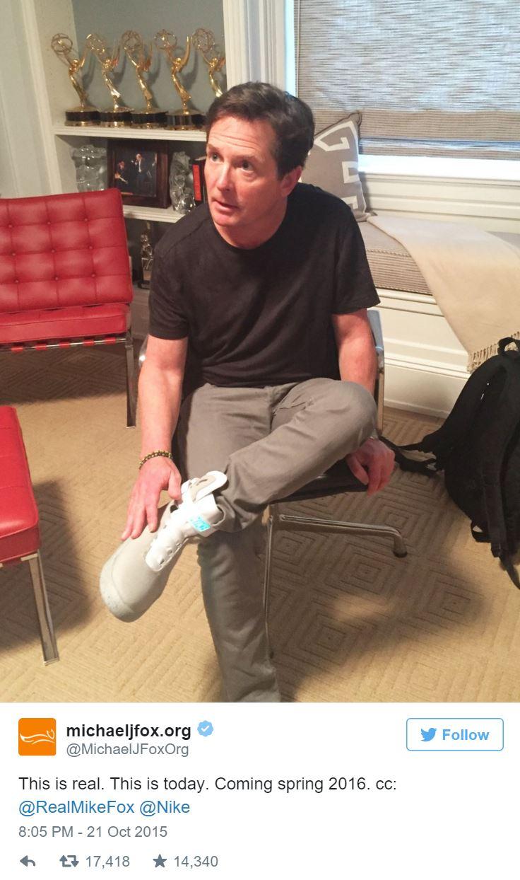 Michael J Fox Tweet