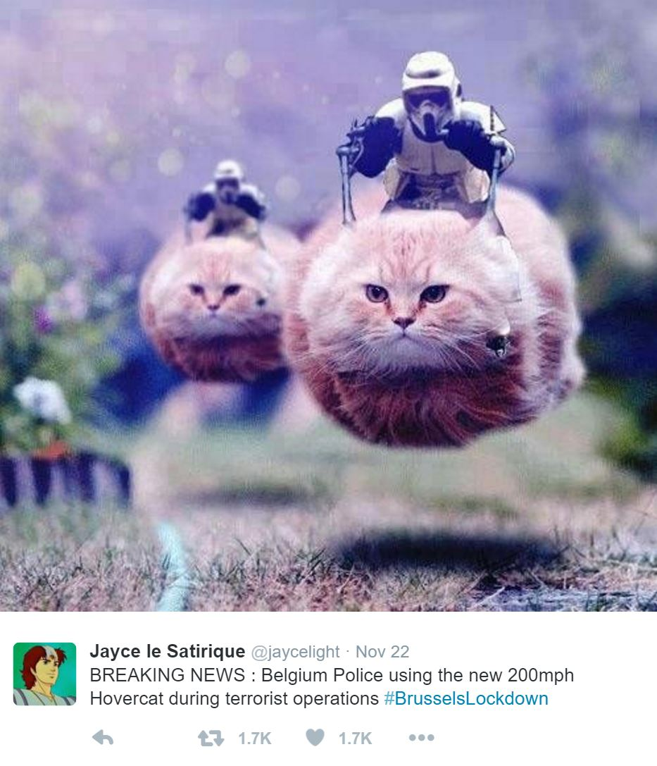 Jayce le Satirique tweet