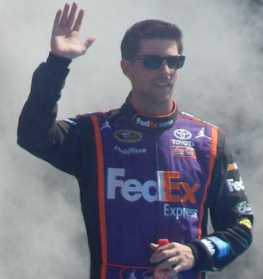 Denny_Hamlin_at_the_Daytona_500