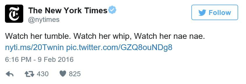 Sophina DeJesus NY Times tweet